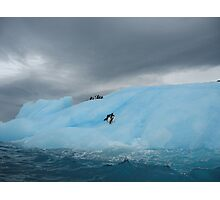 Storm brewing in Antarctica Photographic Print