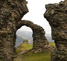 Castell Dinas Bran by Cat Edwards