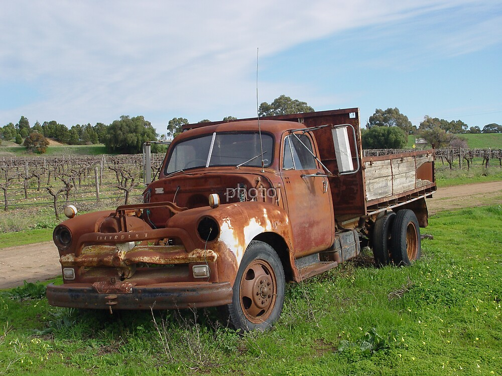 photoj South Australia, Rusted Truck by photoj