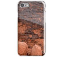 Valley of Fire Petroglyphs iPhone Case/Skin