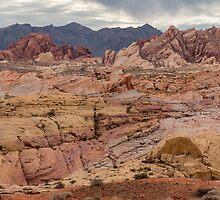 Valley of Fire Rainbow Vista by Jerry Deutsch