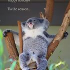 Aussie Christmas Card by David Smith