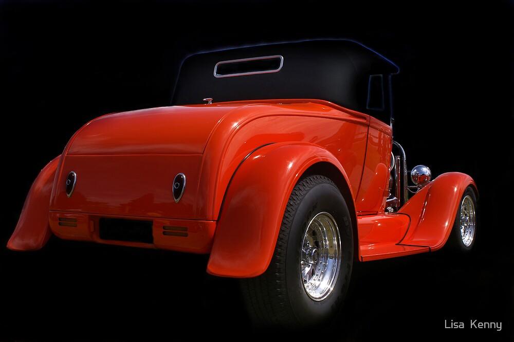 Hot Orange  by Lisa  Kenny