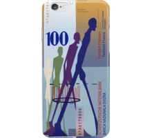 100 Swiss Francs Note Bill iPhone Case/Skin