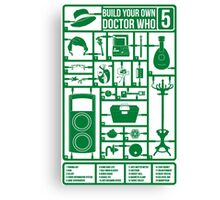 Build Your Own Doctor Who 5 Canvas Print