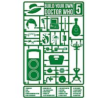 Build Your Own Doctor Who 5 Photographic Print