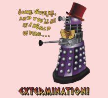 Willy Wonka Dalek Kids Clothes