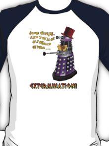Willy Wonka Dalek T-Shirt