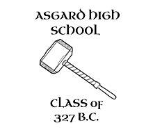 Asgard High School Photographic Print