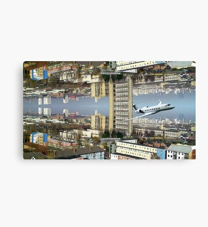 East End World Canvas Print