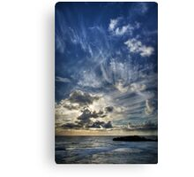 Cloud Evolution Canvas Print