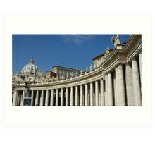 Vatican, St. Peter Art Print
