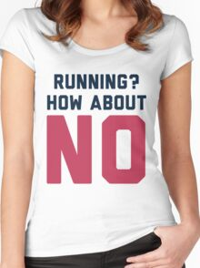 I Don't Run Women's Fitted Scoop T-Shirt