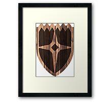 Dawnstar Shield Framed Print