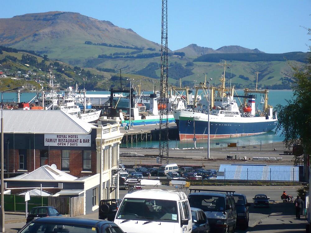 Port View by greeneyedgirl