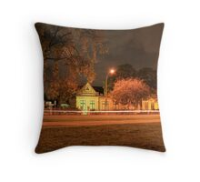 Streaking On South Terrace Throw Pillow