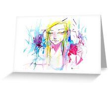 Colorful Watercolors Greeting Card