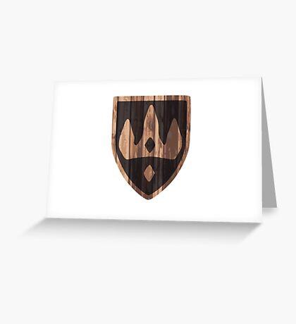 Winterhold Shield Greeting Card