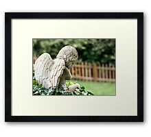 Angel in the Ivy Framed Print