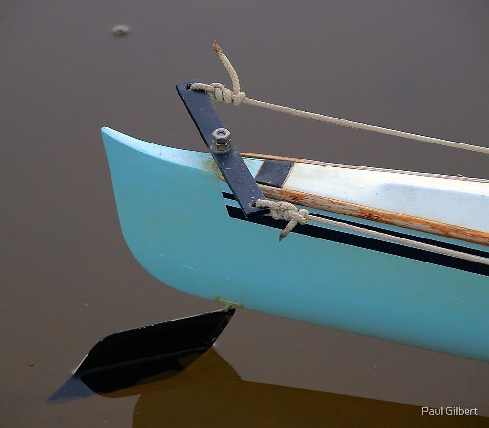 The steery bit - Riverway Rowing Club by Paul Gilbert