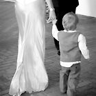 Bride & son by Danielle Schriever