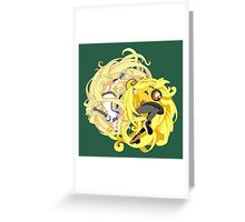 Guilty Gear - Millia Rage - Old and New Greeting Card