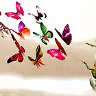 On the wings of a butterfly by JustPaula