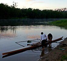 Early start - Riverway Rowing Club by Paul Gilbert