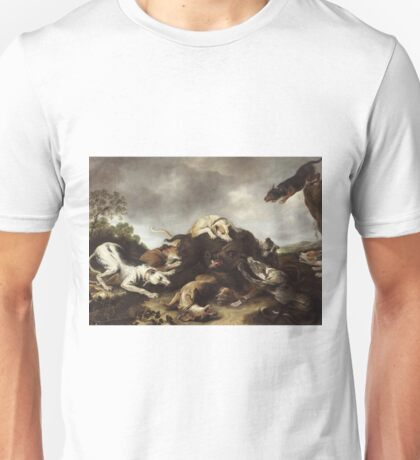 Frans Snyders - The Boar Hunt Unisex T-Shirt
