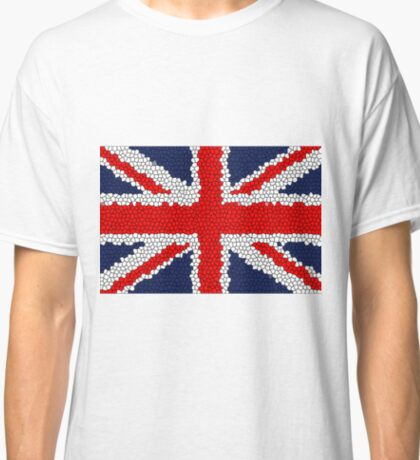 The Union Jack Flag of the United Kingdom Classic T-Shirt