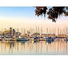Harbor Reflections Photographic Print