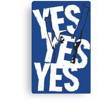 Daniel Bryan YES YES YES ! Canvas Print