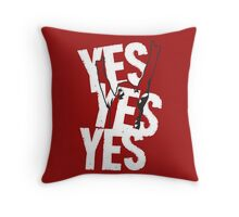 Daniel Bryan YES YES YES ! Throw Pillow