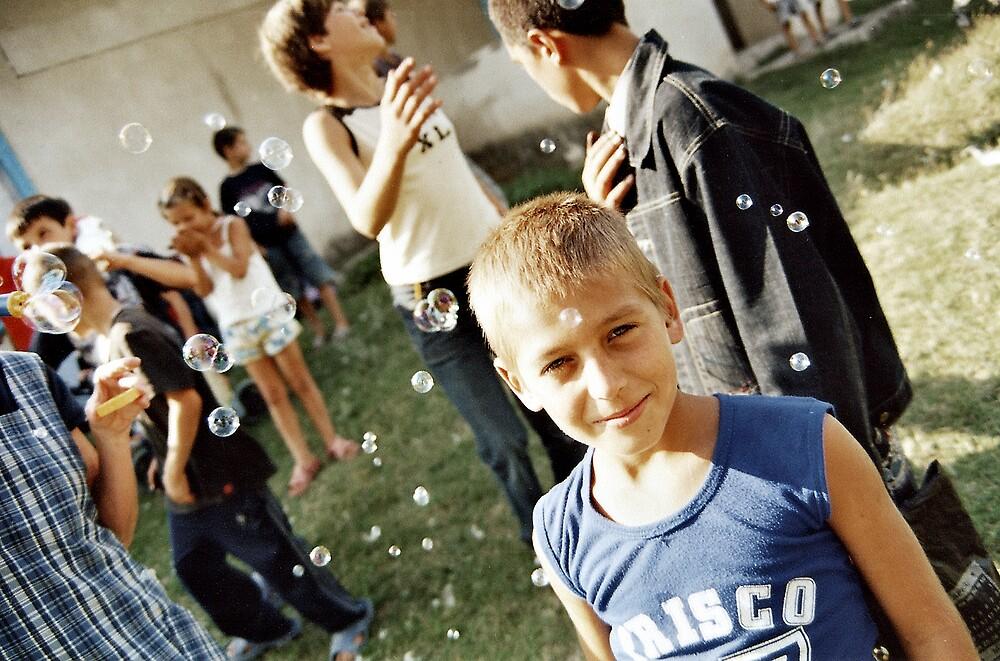 The kid... by John Roshka