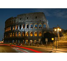 Colosseum at Dusk - 624 Photographic Print