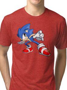 Sonic the Hedgehog - Sonic Tri-blend T-Shirt