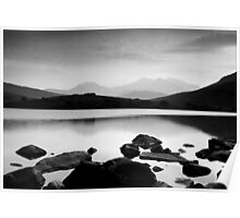 Snowdon Horseshoe at Dusk Poster