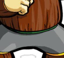 Mega Man 2 Robot Master - Wood Man Sticker