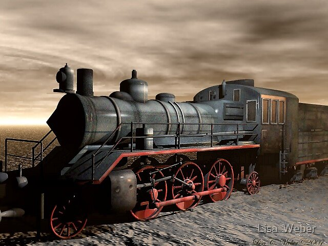 A Train With No Track by Lisa  Weber