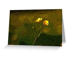 Artwork - Buttercups Greeting Card