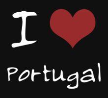 I love Heart Portugal Baby Tee