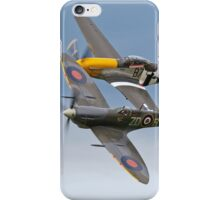 Spitfire & P-51 Mustang iPhone Case/Skin