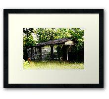 Louisiana Shotgun House Framed Print