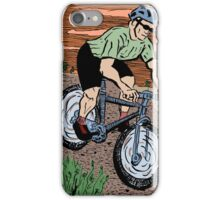 Mountain Biking On Corral Loop iPhone Case/Skin