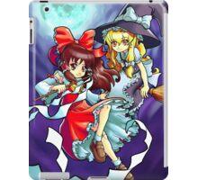 Touhou - Reimu and Marisa iPad Case/Skin
