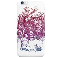 Dreaming Bear  iPhone Case/Skin