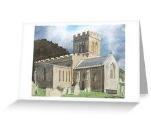 Church, Stoke-sub-Hamdon. Somerset Greeting Card