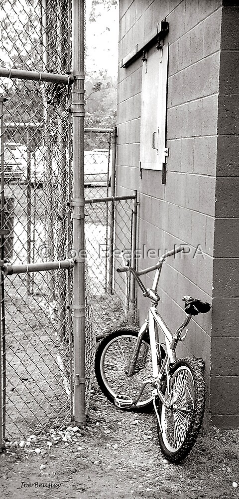 bycycle at ballpark by © Joe  Beasley IPA