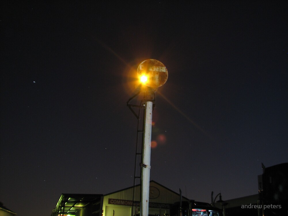 yard signal by andrew peters