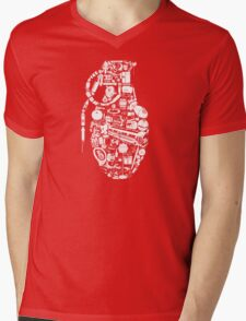 BOOM! Mens V-Neck T-Shirt